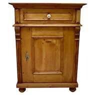 Pine One Door Dresser Base