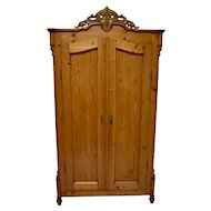 Pine Louis-Philippe Two Door Armoire