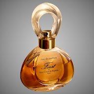 Vtg First Van Cleef & Arpels Paris Eau de Parfum 2oz-60ml bottle almost full