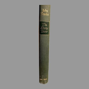 First Edition Hardcover the Ebony Tower John Fowles 1974