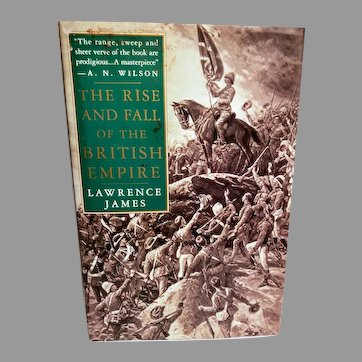 The Rise and Fall of The British Empire First US Edition  1996 Hardcover  dust cover