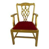 Vintage 1980 Doll Chair or Display