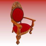 Vintage Estate Doll Chair Display