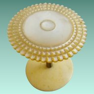 "Antique Mother of Pearl Thread Spool ""PRETTY & RARE"""