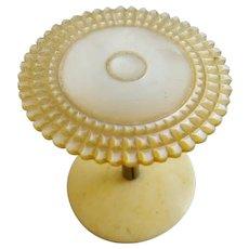 "Antique Mother of Pearl Thread Spool ""PRETTY & RARE"""