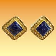 18KARAT Lapis Lazuli Earrings