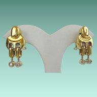 "Baraka 18KARAT Yellow Gold Diamond Earring  ""MAGNIFICENT"""