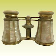 Antique French LeMaire - Paris Mother of Pearl Opera Glasses