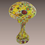 """14"""" Murano Millefiori Lamp ~ WOW!  What a Prize!  ~ Awesome Colors!  ~ A MILLEFIORI BEAUTY from My Treasure Vault."""