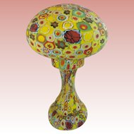 "14"" Murano Millefiori Lamp ~ WOW!  What a Prize!  ~ Awesome Colors!  ~ A MILLEFIORI BEAUTY from My Treasure Vault."