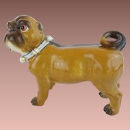 "Antique  Conte & Boehm Pug   ""EXTREMELY  Rare """