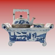 RARE Chinese Porcelain Tea for Two Set