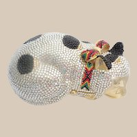 """Judith Leiber """" CAT """"  Minaudiere with Big Bow"""