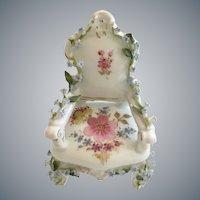 Charming Dornheim, Koch & Fischer, a Thuringia, Germany  Elfinware Armchair ~Wonderful Little Miniature Chair from My Treasure Vault