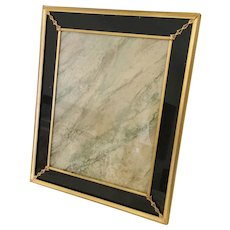 """Stunning Vintage Estate Frame  ~ Beautiful ~  Size 10"""" x 12"""" &  Ready for Your Photo ~ Table Top  or Wall  Frame in the Art Deco Style"""