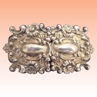 Exquisite Antique Sterling Buckle~A  Masterpiece