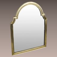 """17 ½"""" Antique Bronze Vanity Mirror """"BEAUTIFUL"""" Great Shape ~  Arched Top with Beveled Mirror ~ A Lovely Vanity Mirror from My Treasure Vault."""