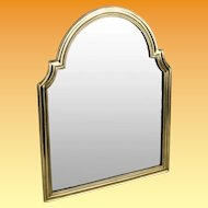 "17 ½"" Antique Bronze Vanity Mirror ""BEAUTIFUL"" Great Shape ~  Arched Top with Beveled Mirror ~ A Lovely Vanity Mirror from My Treasure Vault."