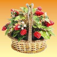 1978 Jane Hutcheson  Jeweled Strawberry Basket