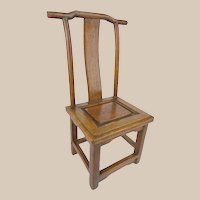19C  Miniature Doll Salesman's Sample Chinese Chair