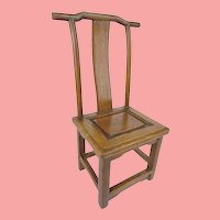 19C  Miniature Salesman's Sample Chinese Chair