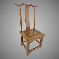 "19C Miniature Salesman's Sample Chinese Chair  ""WOW!     RARE & WONDERFUL"""
