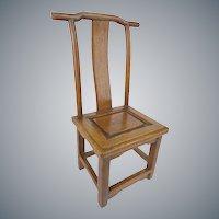 "19C Miniature Salesman's Sample Chinese Chair  ""WOW!     RARE & WONDERFUL"""