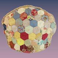 Antique Crazy Quilt Tea Cozy