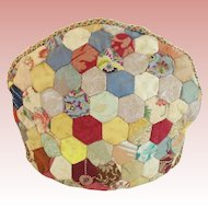 Antique Crazy Quilt Tea Cozy