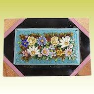 19C Micro Mosaic Paperweight