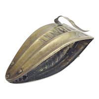 """Antique English Brass Chestnut  Holder """" Remove Roasting Chestnuts from the Coals"""""""