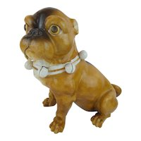 "Antique 9"" PUG from Conte & Boehm  ""MAGNIFICENT"""