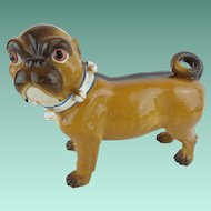 "Antique PUG from Conte & Boehm  ""Blue Collar & Bells"""