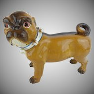 "Antique PUG from Conte & Boehm  ""Blue Collar & Bells"""
