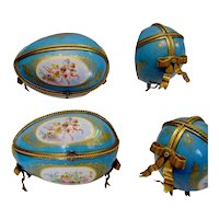 "Antique French Sevres Style Porcelain Casket  ~  ""This is the BEST!"""