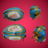 """Antique French Sevres Style Porcelain Casket  ~  """"This is the BEST!"""""""