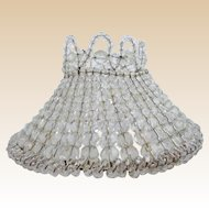 Beautiful  Crystal Beaded Lamp Shade