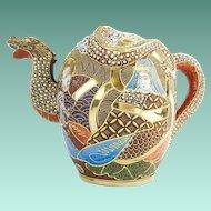 Japanese Moriage Tea Set…Incomplete