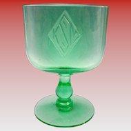 Beautiful Green Crystal Cardholder
