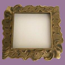 Stunning Bronze Rest Base Frame for Your Treasure. ~ An Ornate Bronze Rest Base  Frame for a Perfume, Jar, Vase