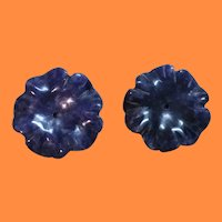 Vintage Stone Earring Enhancer ~  Use with Your Stud Earrings