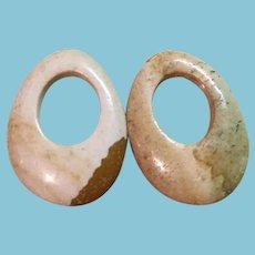 Vintage Stone Earring/Hoop Enhancers