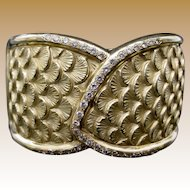 18Karat  Diamond Bangle Bracelet