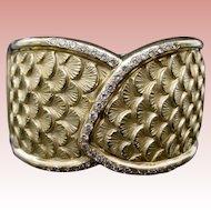 18Karat  Diamond Bangle Bracelet