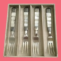 TOWLE Mother of Pearl Flatware Set ~ THREE SETS