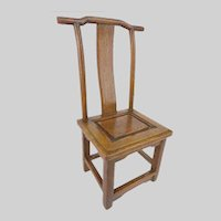 Antique Miniature Salesman's Sample Chinese Chair ~ Great Piece for a Doll