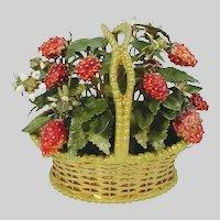 Jane Hutcheson Jeweled Strawberry Basket