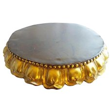 "BIG 22"" Antique Bronze Plateau ~ WONDERFUL!  ~ Just the Perfect Place for a Massive Treasure to SIT!"
