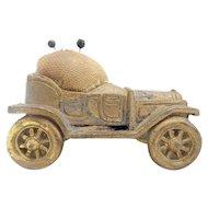 "Vintage Estate Pin Cushion ""Antique Model T Car"""