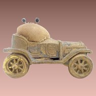 "Vintage Estate Pin Cushion ""Antique Model T Car"""